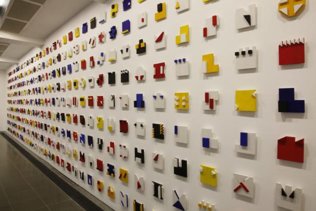 Lygia Pape Installation view, Magnetized Space,  Serpentine Gallery, London © 2011 Jerry Hardman-Jones