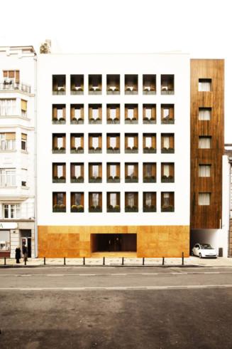 Square 9 Hotel facade