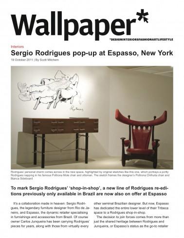 Wallpaper, October 2011