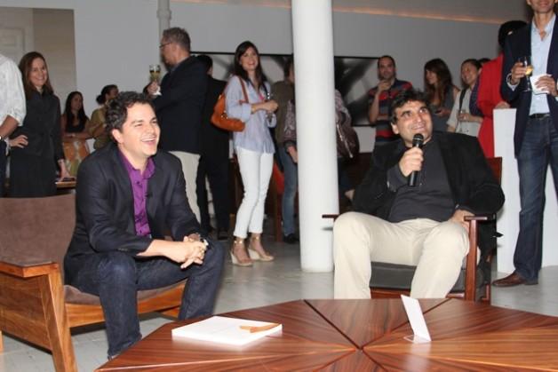 Carlos Saldanha e Cao Harburguer