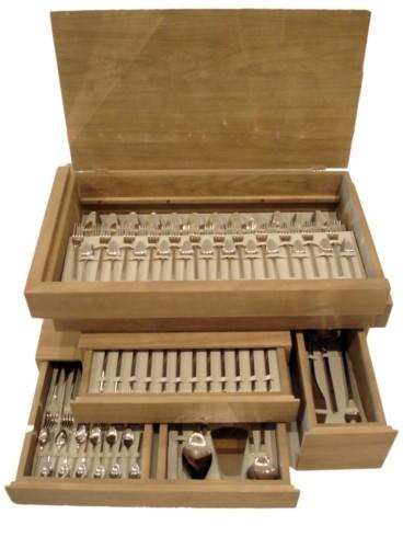 Jararaca One Hundred Thirty Piece Flatware Set - Arthur Casas