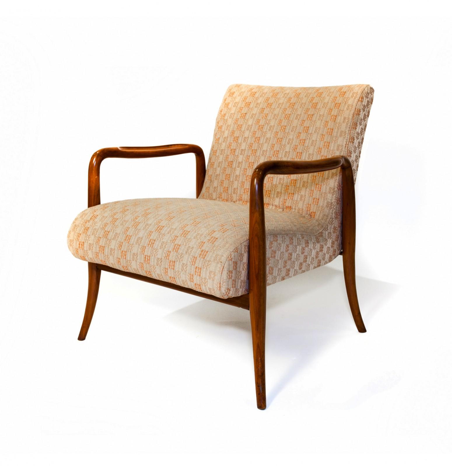 Modern classic armchair - Leve Armchair 1940 By Joaquim Tenreiro