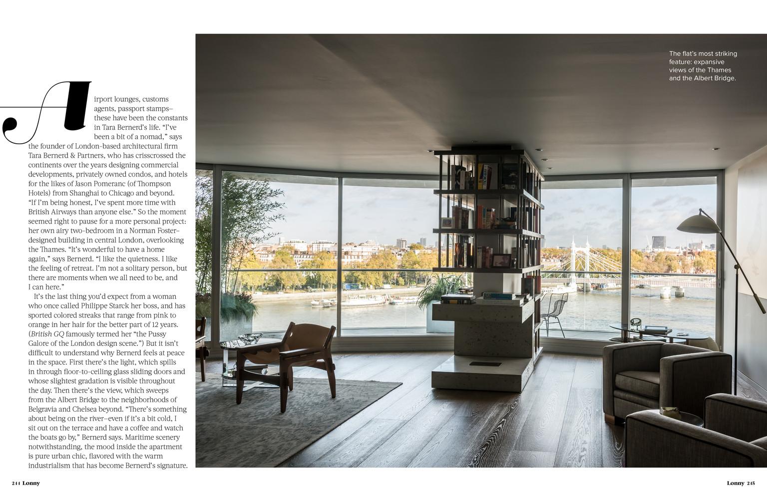 Lonny magazine sergio rodrigues kilin armchair at the for Tara louise interior decoration design