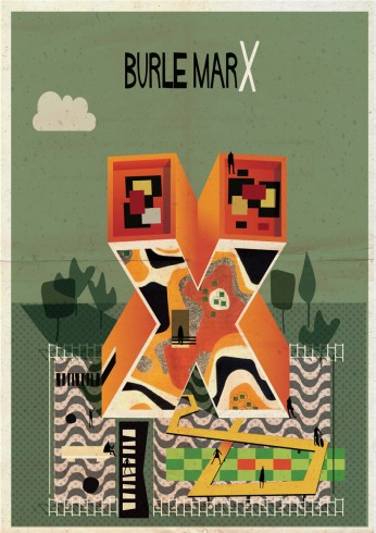 X is for Burle Marx, 'Archibet' by Frederico Babina