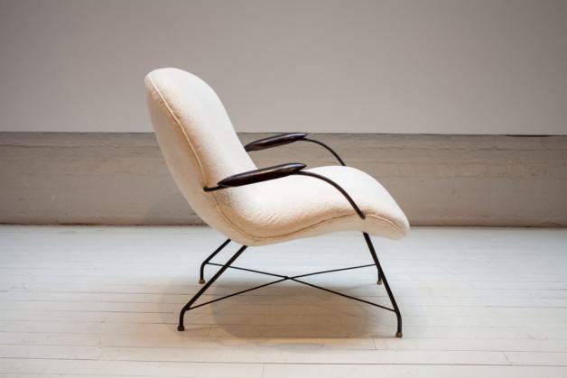 Vintage Martin Eisler Armchair, ca. 1960