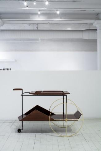 JZ tea trolley by Jorge Zalzsupin