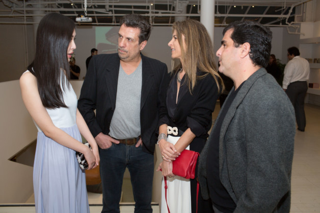 Meme T., Carlos Junqueira, Lissa Carmona and Carlos Ricardo Niemeyer photo_Fernanda Lenz