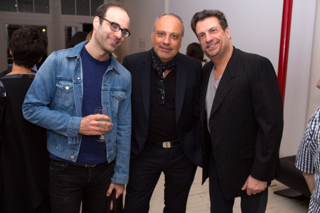 Stephen Milioti, Arthur Casas and Carlos Junqueira photo_Fernanda Lenz