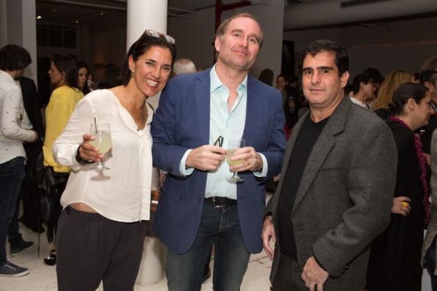 Veronica and Matthew Latham, and Carlos Ricardo Niemeyer photo_Fernanda Lenz