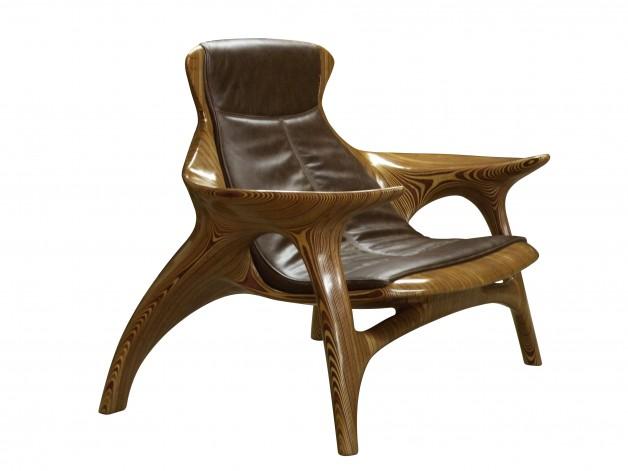 Grude armchair - Fernando Mendes 1