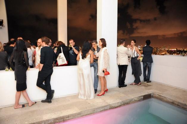 ESPASSO Celebrates the opening of the Em Transito exhibit at The Shore Club