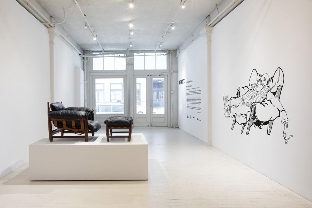 Mole Armchair 60 Years by Eliseu Cavalcante - Entrance