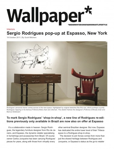 Wallpaper, October 2011