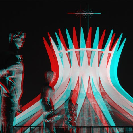 Oscar Niemeyer in 3D by Vicente Depaulo