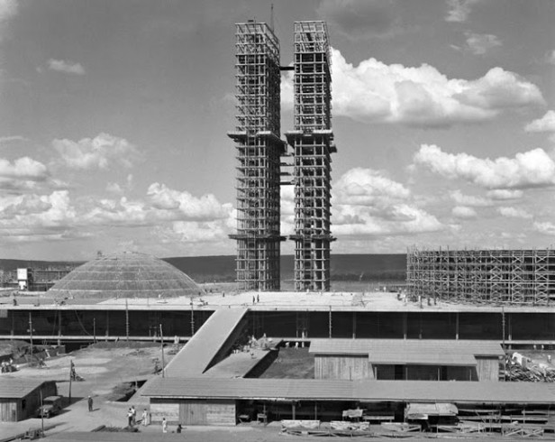 Brasilia construction