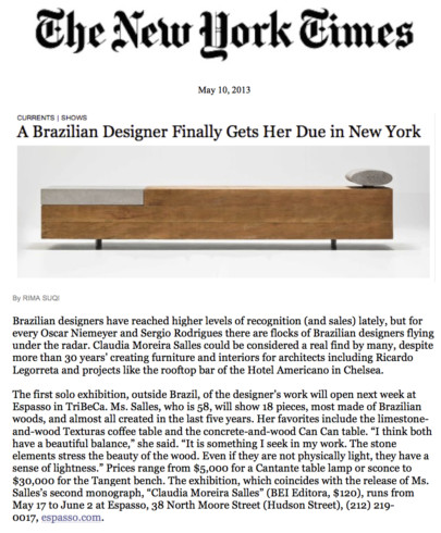 NY times for blog