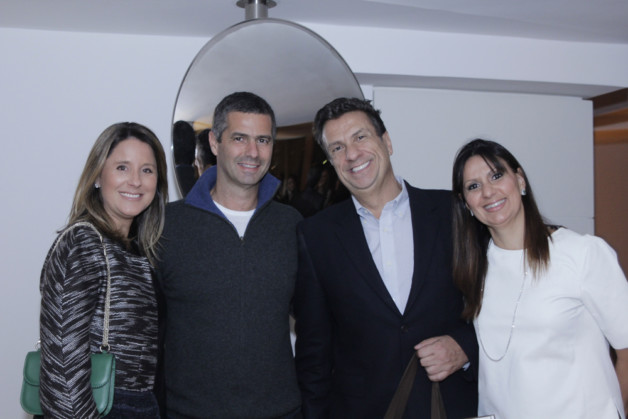 Adriana e Romeu Trussardi, Carlos Junqueira e Andrea Junqueira Tovar (1)