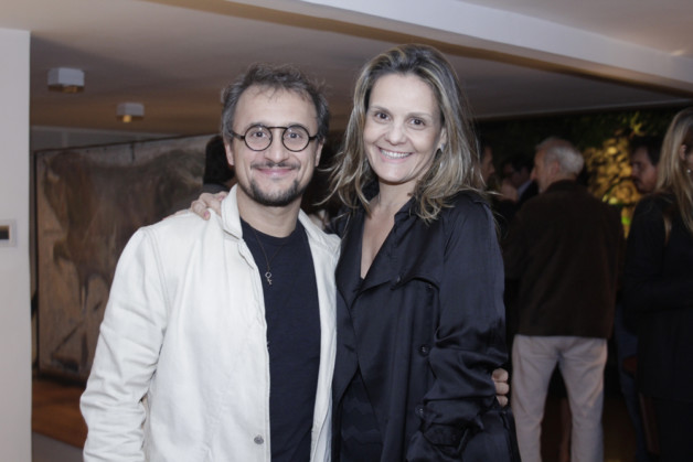 Fernando Mendes e Renata Aragao