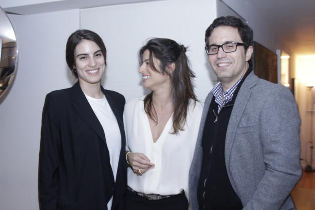 Luisa Moraes, Ana Nasser e Rodrigo Botti