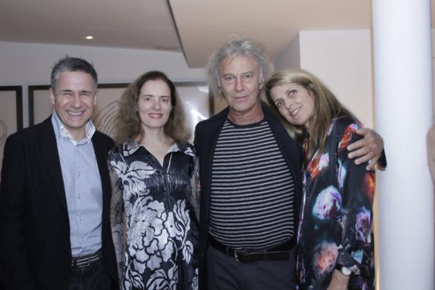 Marcelo Bratke, Mariannita Luzzati, Carlos e Sibila Motta