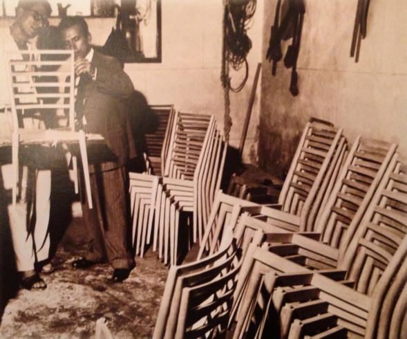 Tenreiro chair production 1950 copy