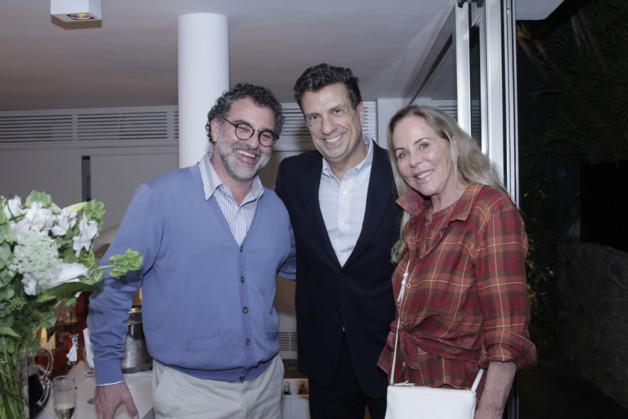 Virgilio Viana, Carlos Junqueira e Etel Carmona