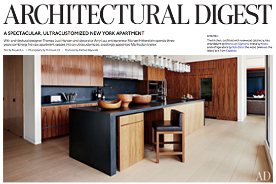 Modern Kitchen Images Architectural Digest architectural digest – a spectacular ultracustomized new york