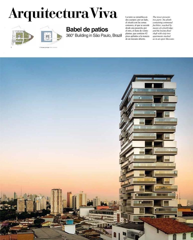 Arquitectura viva 360 building s o paulo by isay for Av arquitectura viva