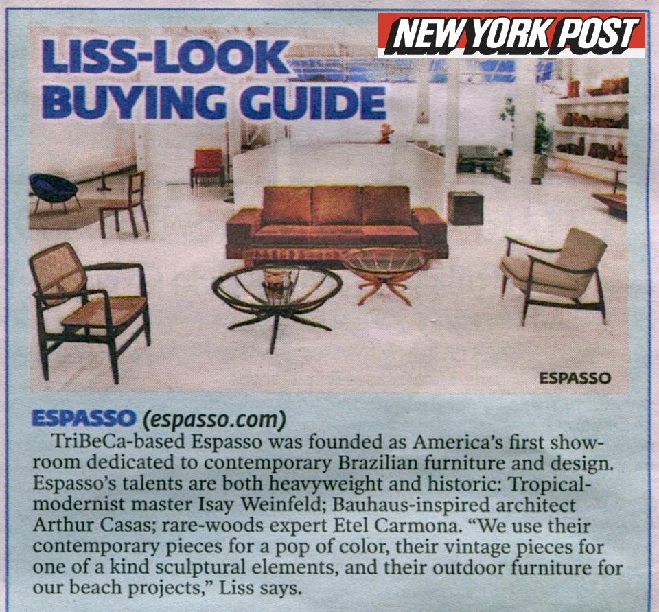 New York Post Home Designers At Damon Liss