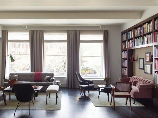 Tribeca apartment of designer Damon Liss