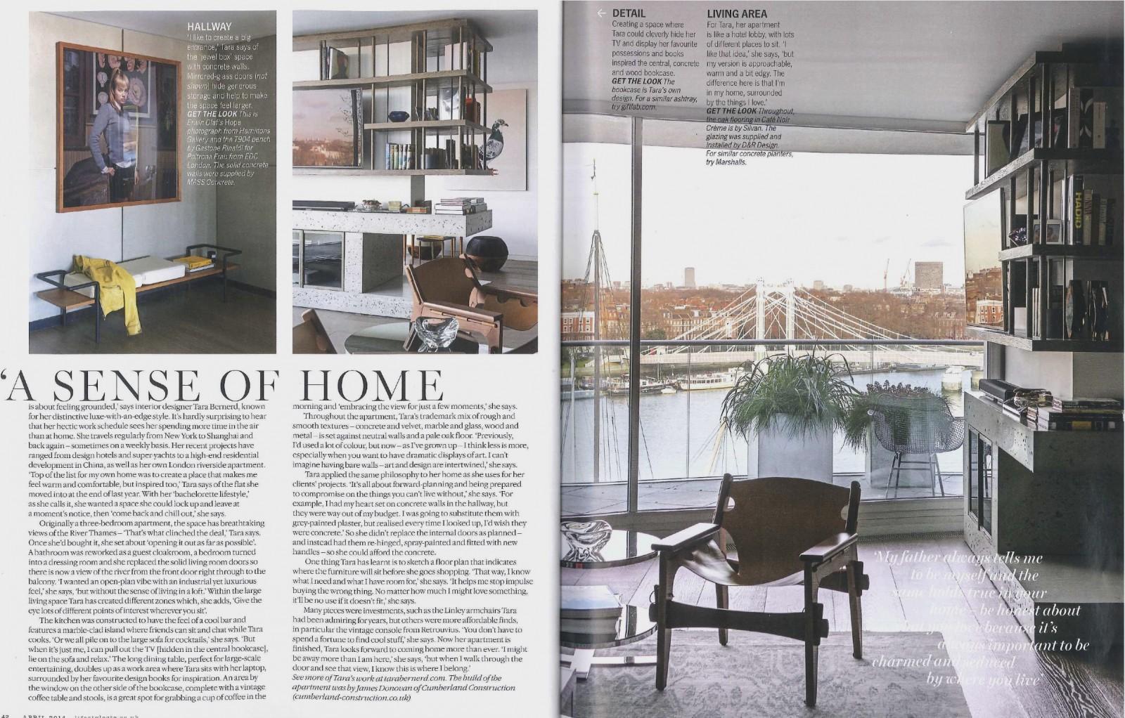 Living etc london calling the home of tara bernerd for Tara louise interior decoration design
