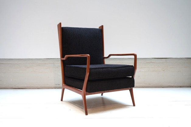Vintage armchair by Rino Levi, ca. 1960