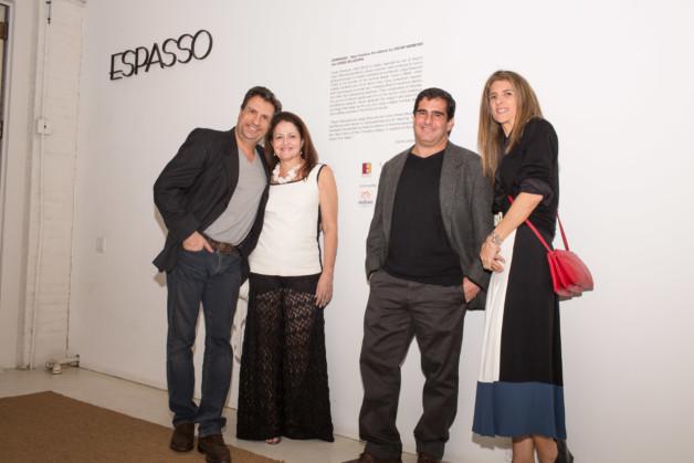 Carlos Junqueira, Cristiana Mascarenhas Carlos Ricardo Niemeyer and Lissa Carmona photo_Fernanda Lenz
