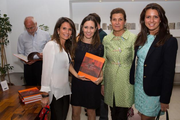 Olimpia Zalszupin, Patricia Lobaccaro and  Nessia Pope