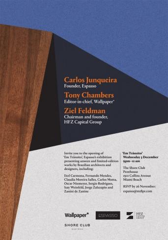 ESPASSO - Em Transito Opening Invite 12.3.14