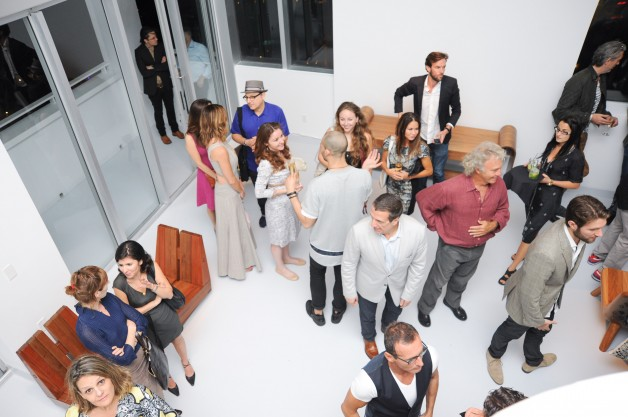 ESPASSO Celebrates the opening of the Em Transito exhibit at The Shore Club